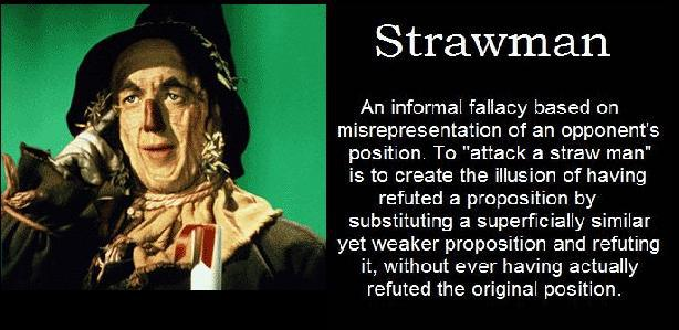 "The ""Gospel Imposter Responds"" Part 2: Straw Man Argument"