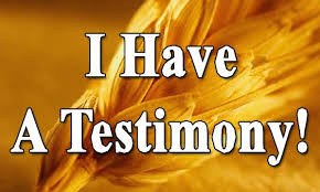 The Grace Imposter Addresses Part 20: The Testimony of God
