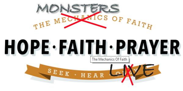 Faith, Hope & Prayer 1 of 4