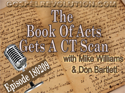 The Book Of Acts Gets A CT Scan