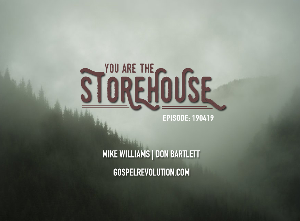 200214 You Are The Storehouse